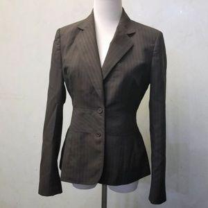 Ann Klein striped blazer (O23)